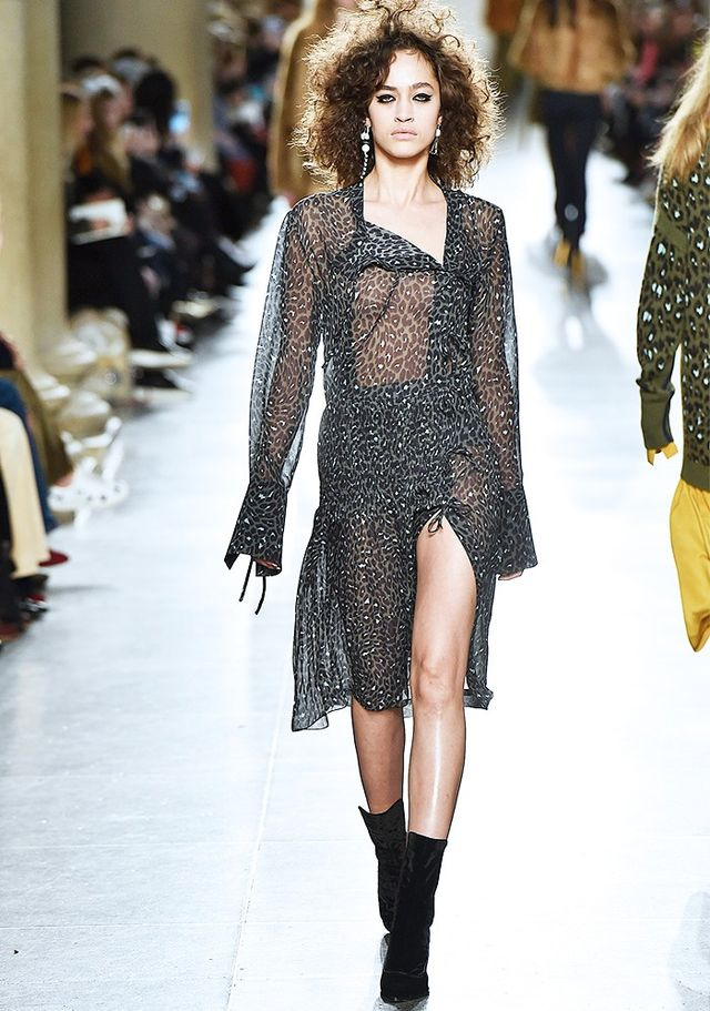 Don't be afraid to wear something see-through (yes you can layer it IRL).