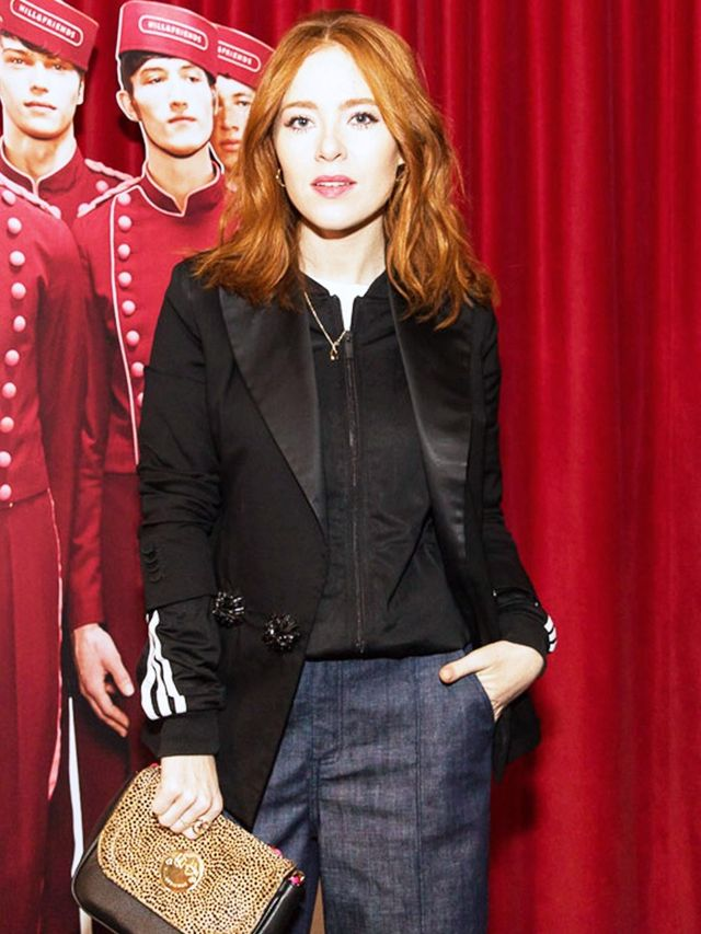 Angela Scanlon attends the Hill and Friends A/W 16 collection presentation.