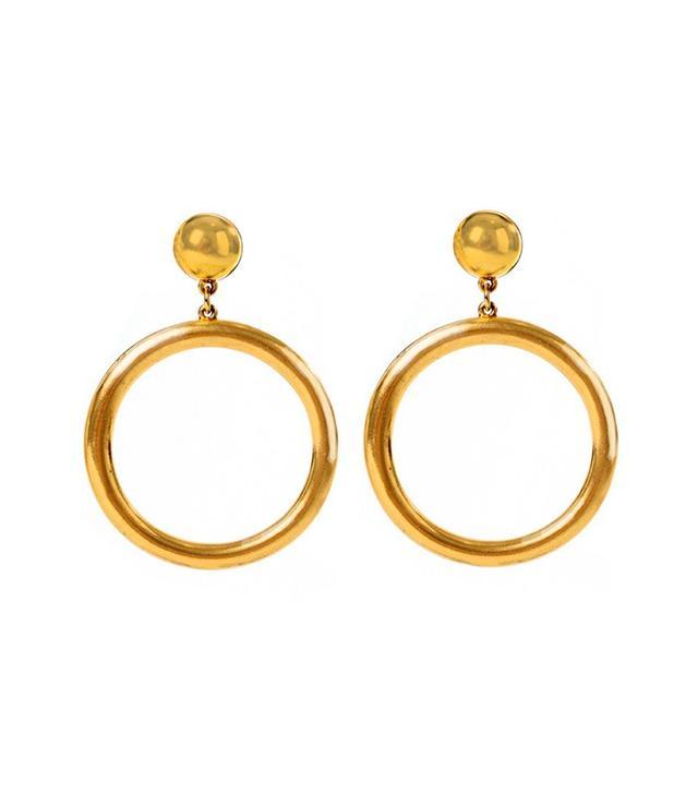 Ben Amun Moroccan Coin Hoop Earrings
