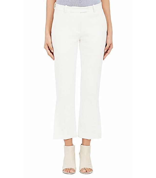 3.1 Phillip Lim Piqué Crop Trousers