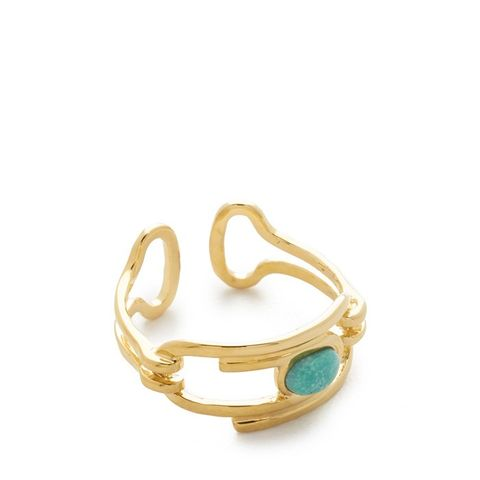 Angelica Ring with Turquoise Stone