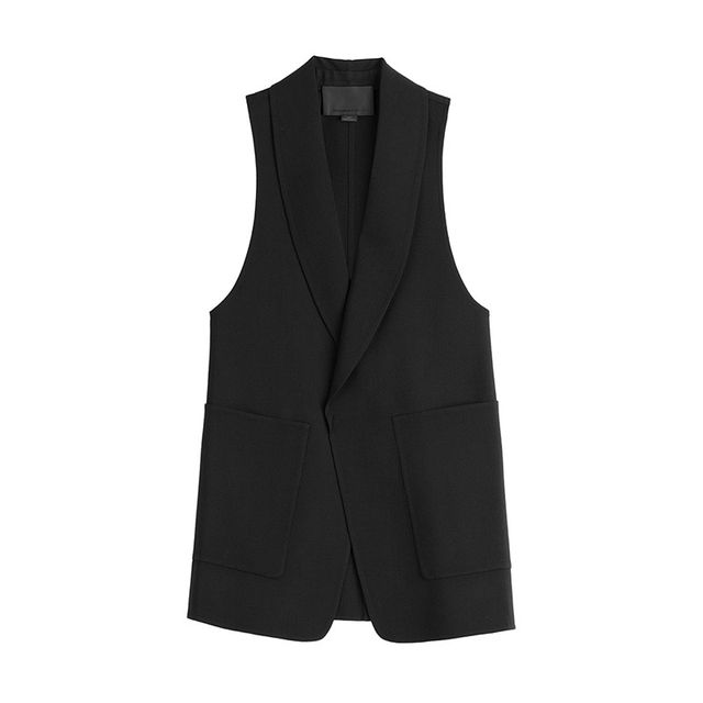Alexander Wang Wool Blazer Style Vest