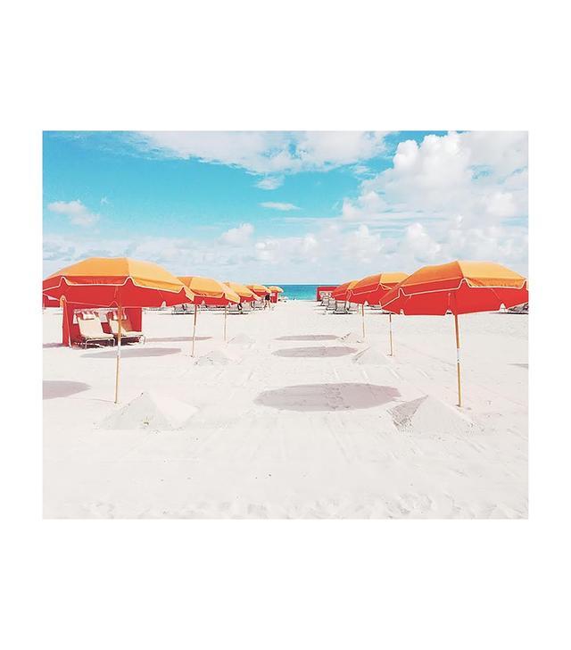 """""""Orange Umbrellas"""" by Natalie Obradovich"""