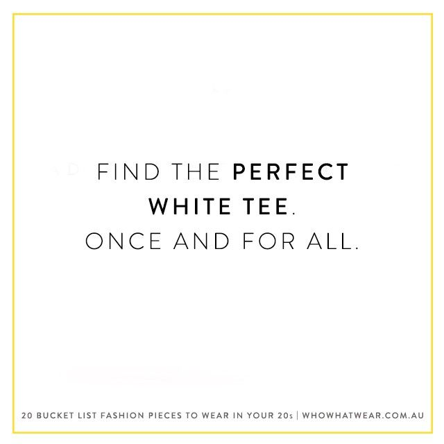 Shop Bassike for the perfect plain white tee.