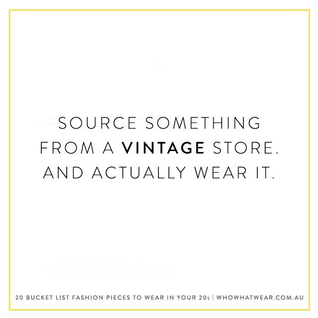 Shop one of our favourite online vintage stores.