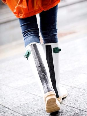 The Easy Trick to Make Your Dirty Rain Boots Look Like New