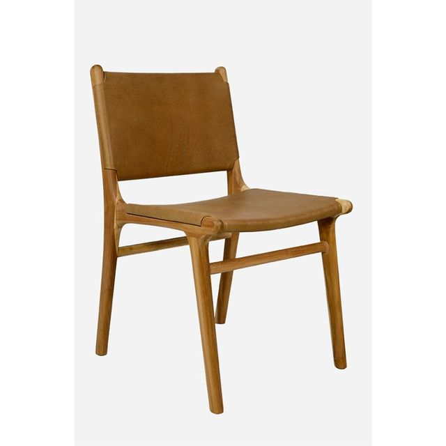 Fenton & Fenton Leather Dining Chair