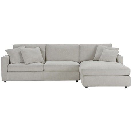 Freedom Benson Modular 2.5 Seat Left Hand & Chaise Right Hand in Arden Natural