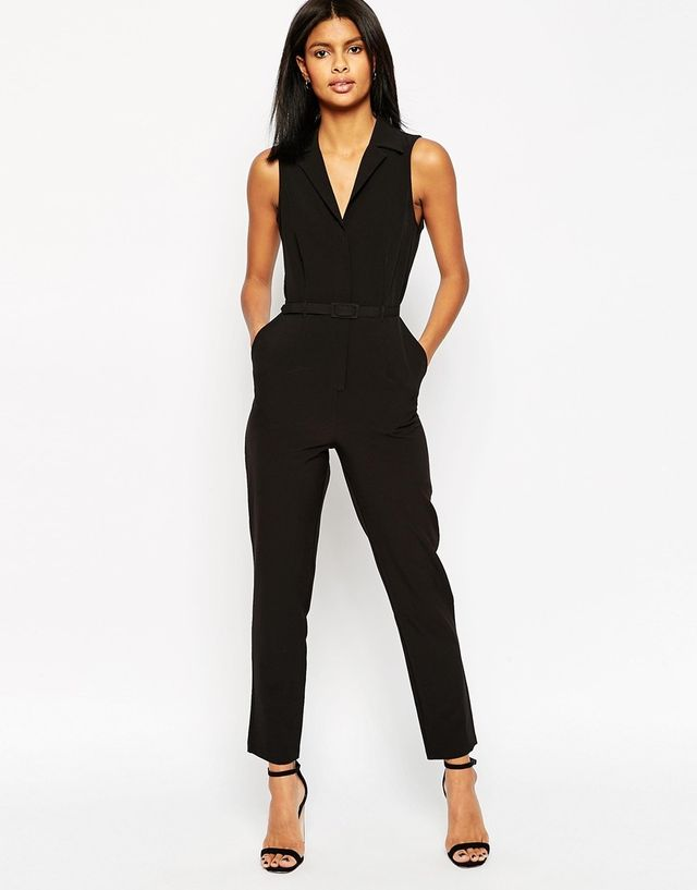 ASOS Tailored Jumpsuit With Shirt Detail