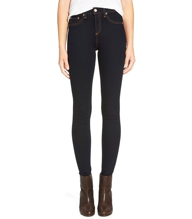 Rag & Bone High Rise Skinny Jeans