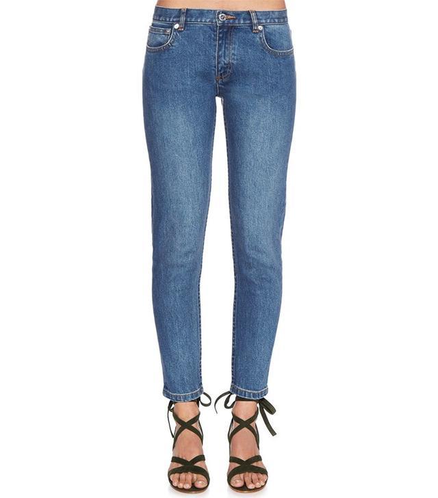 A.P.C. Etroit Court Low Rise Skinny Jeans