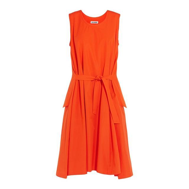 Jil Sander Belted Cotton Dress