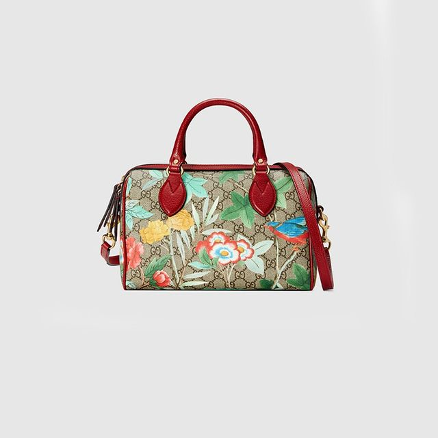 Gucci Blooms Supreme Boston Bag