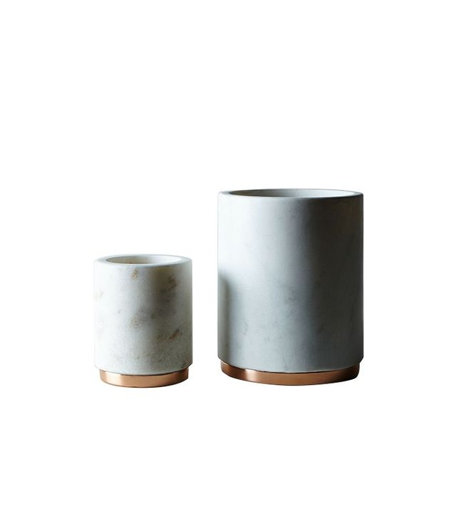 Food52 Marble & Copper Canister