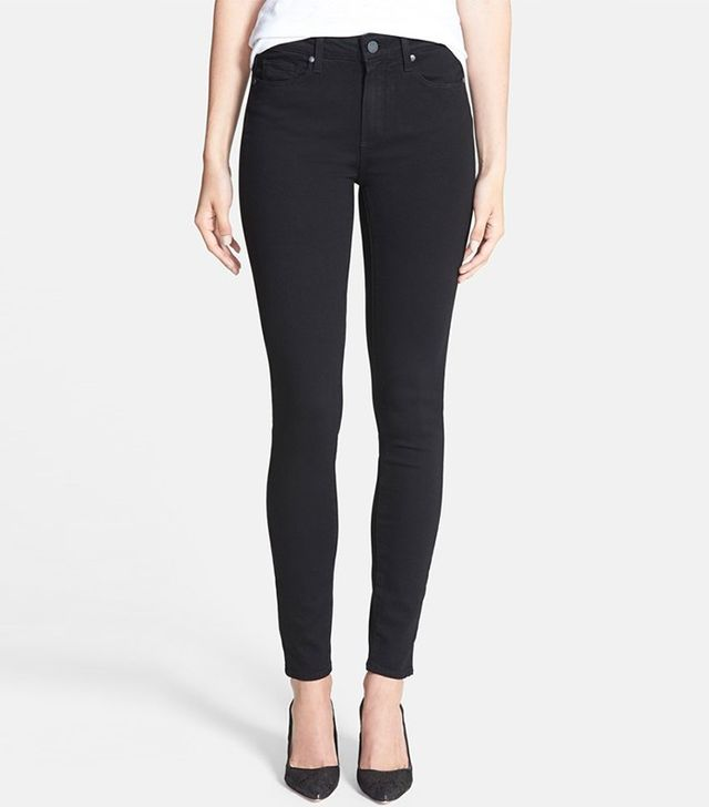 Paige Denim Transcend-Hoxton High Rise Ultra Skinny Stretch Jeans