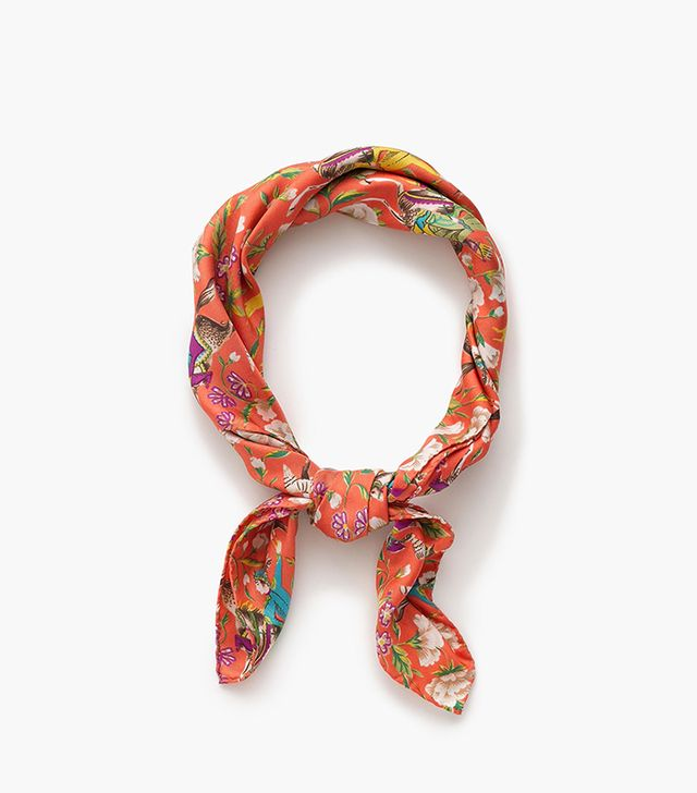 Drake's® for J.Crew square silk scarf