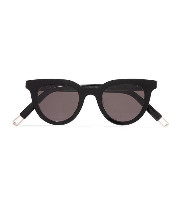Tilda Swinton Eye Eye D-frame Acetate Sunglasses