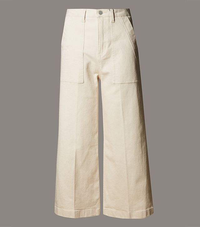 Autograph Wide Leg Denim Culottes