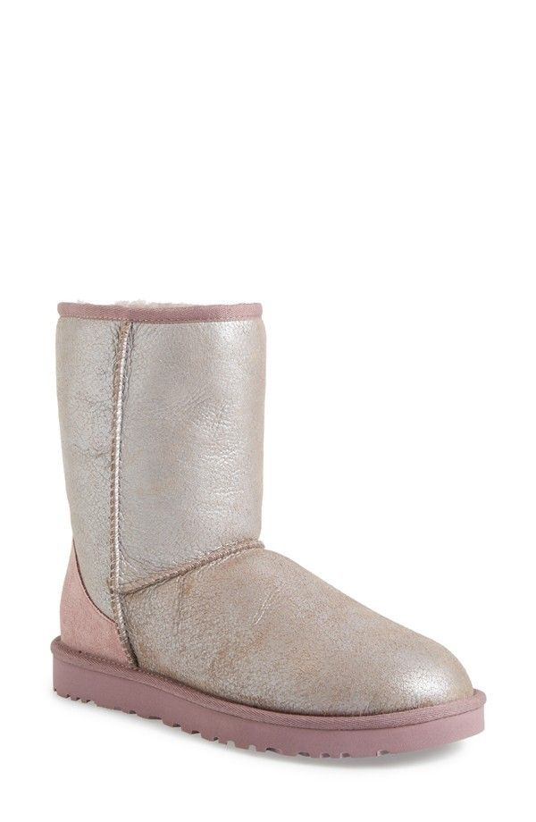 Ugg Classic Short Metallic Boot