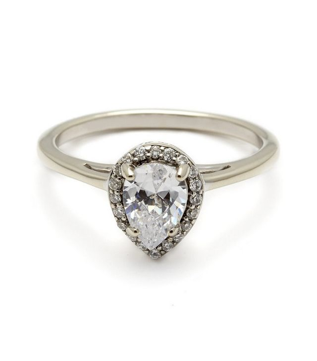Anna Sheffield Pear Rosette Ring