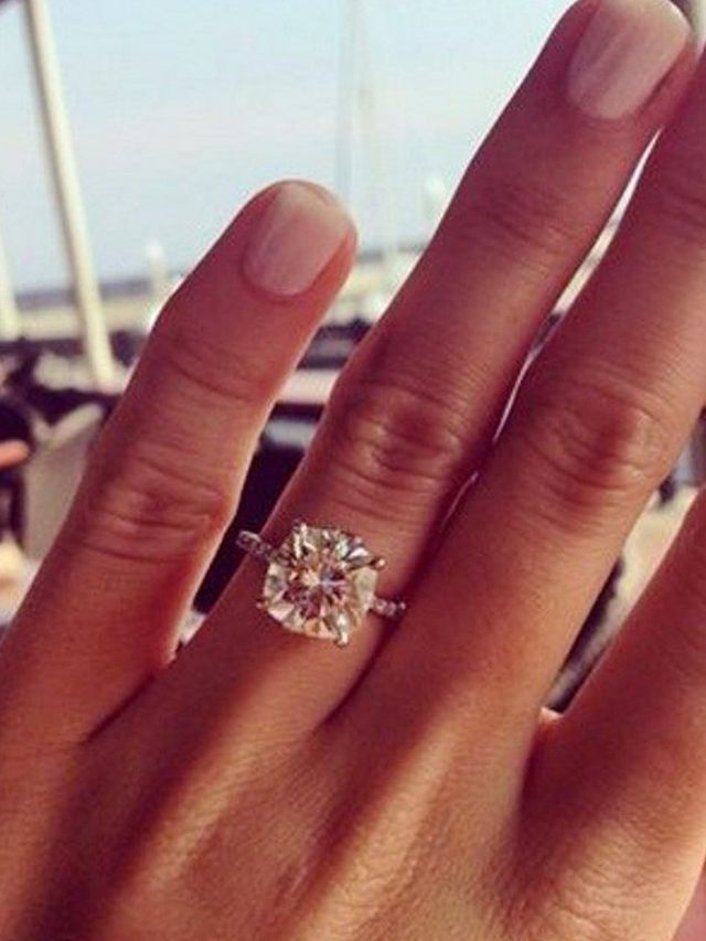 most engagement pinterest rings beautiful diamond