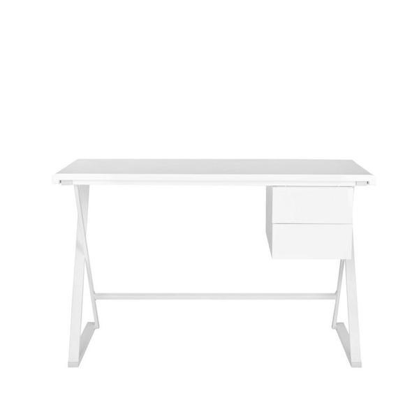 One Kings Lane White Laura Desk