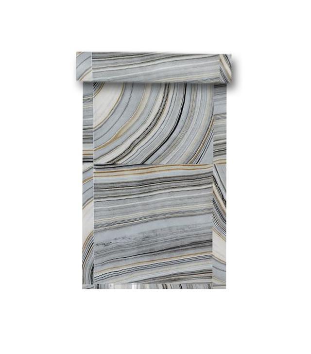 West Elm Strata Marble Tile Wallpaper