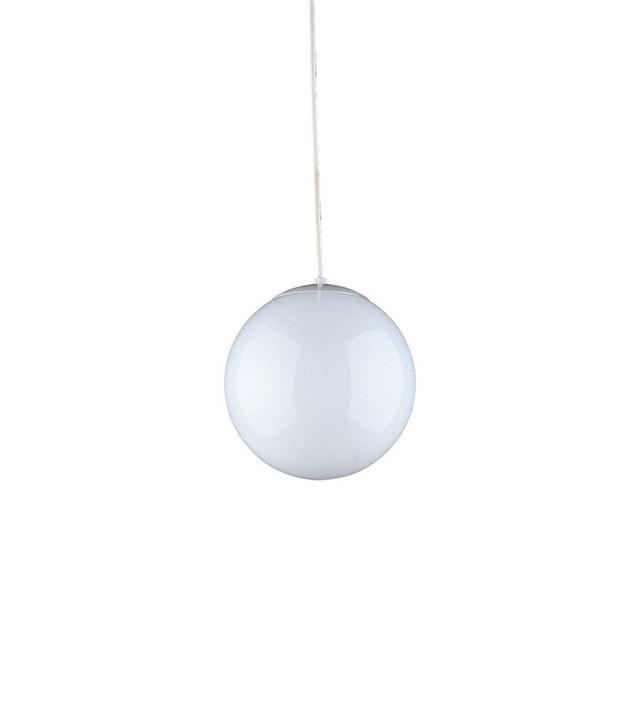 Sea Gull Lighting White Hanging Globe