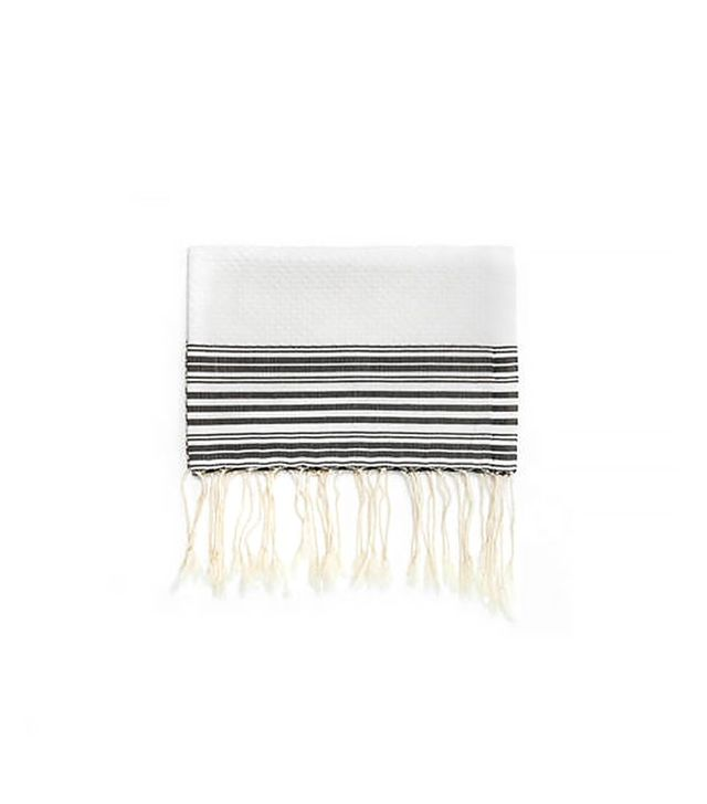 Scents and Feel Fouta Honeycomb Thin Stripe Bath Towel