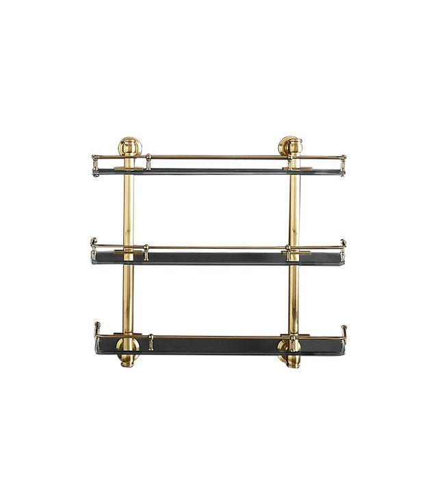 Restoration Hardware Lugarno Triple Shelf