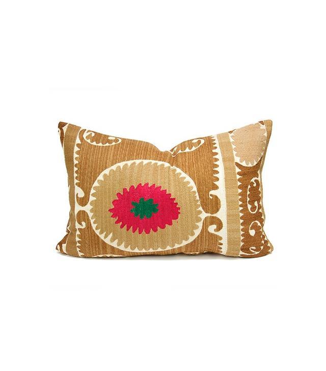 Vintage Suzani Rosada Pillow