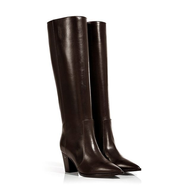 Laurence Decade Leather Knee High Boots