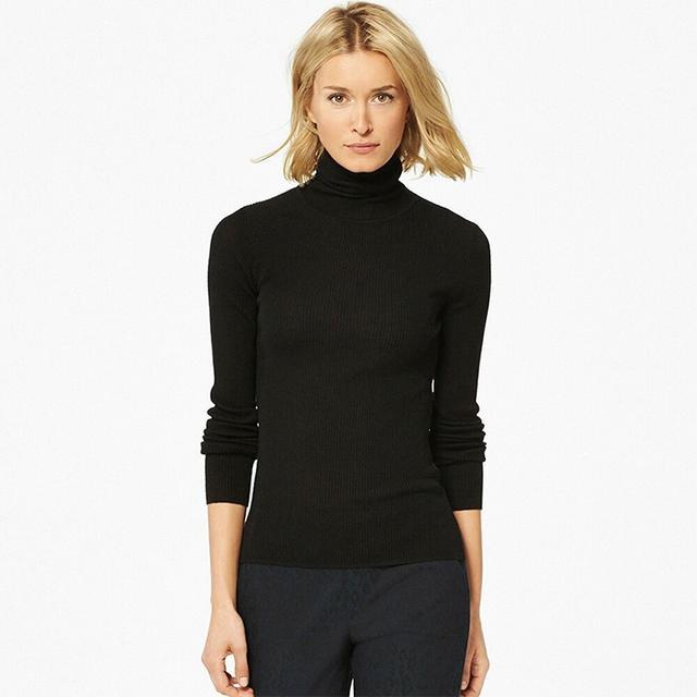 Uniqlo Extra Fine Knit Turtleneck
