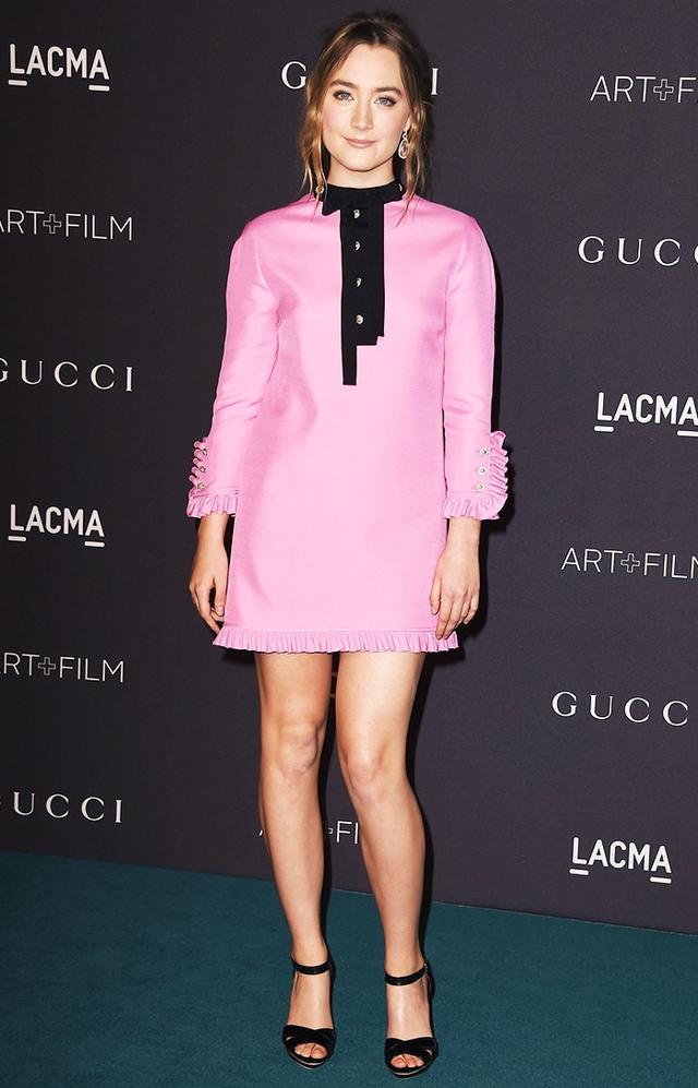 WHAT: 2015 LACMA Art + Film Gala WEAR: Gucci dress.