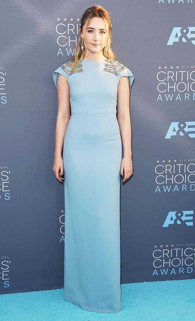 WHAT: 2016 Critics' Choice Movie Awards WEAR: Antonio Berardi dress.