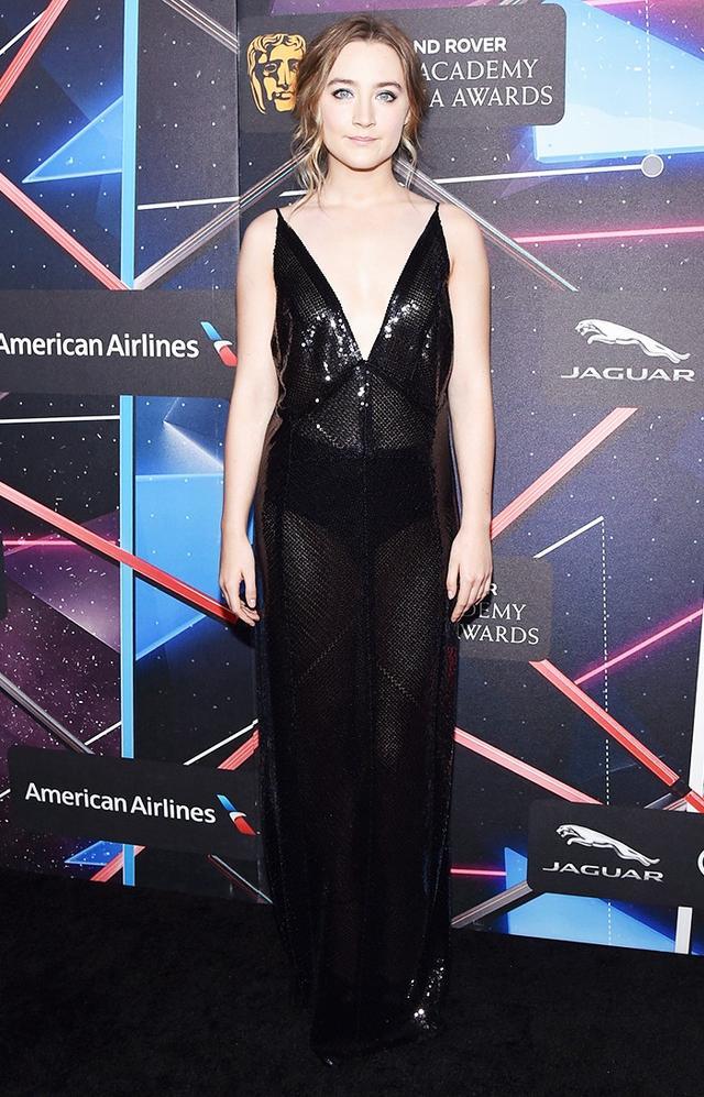 WHAT: 2015 British Academy Britannia Awards WEAR: Calvin Klein dress.