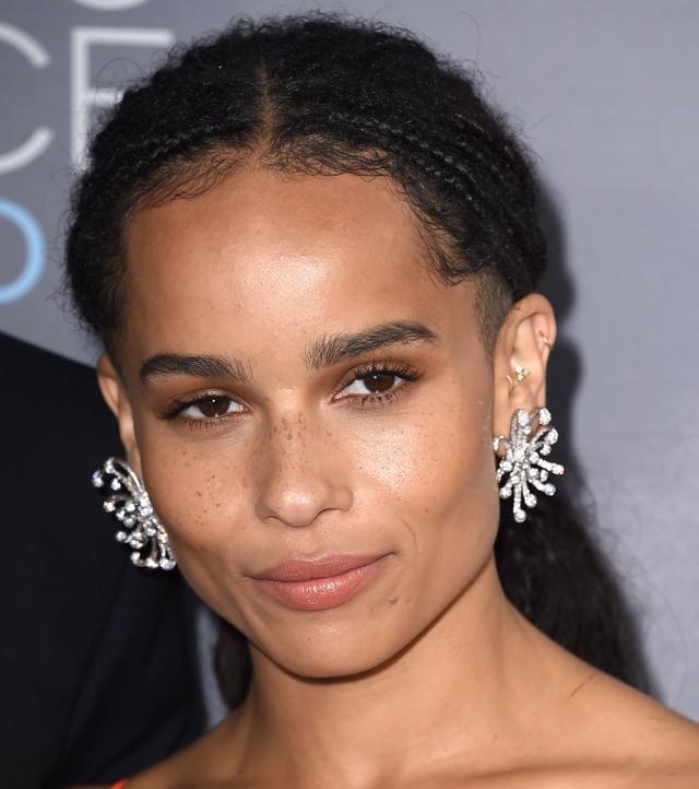 Zoe Kravitz Piercings: Listen Up—The Latest Ear Piercing Trends Are Here