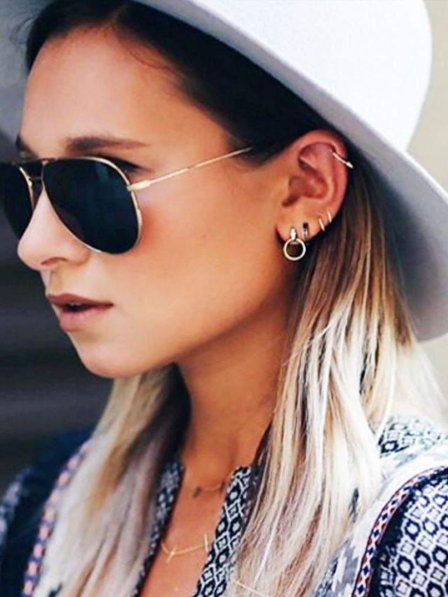 Listen Up The Latest Ear Piercing Trends Are Here