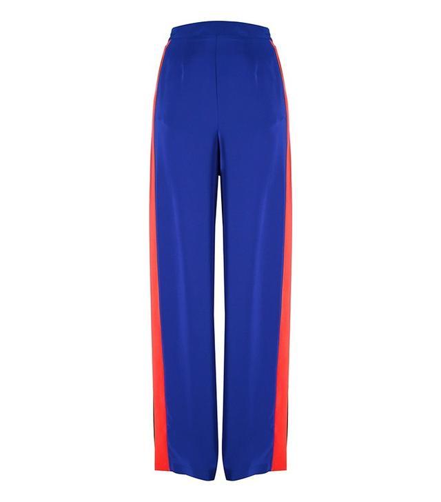 MSGM Side Stripe Palazoo Pants