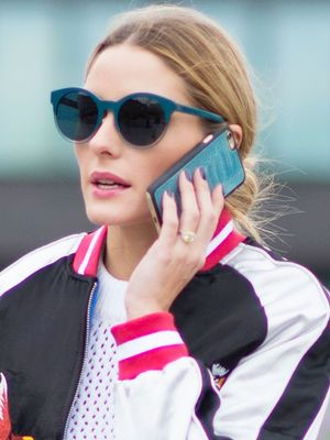 Olivia Palermo's Perfect Topshop Bomber Jacket Is Already Sold Out