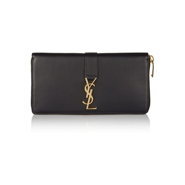 Saint Laurent Line leather wallet
