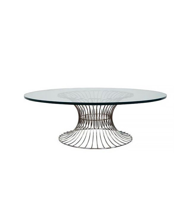 Chairish Vintage Chrome Coffee Table