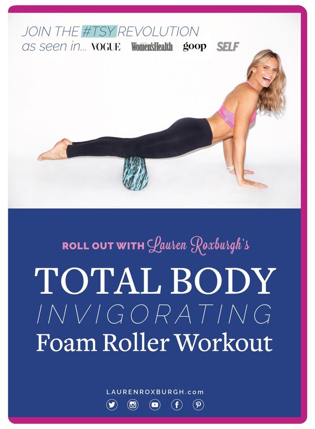 Total Body Invigorating Foam Roller Workout