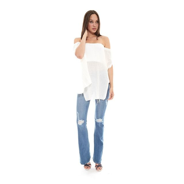 KitX Linen Off The Shoulder Bustier