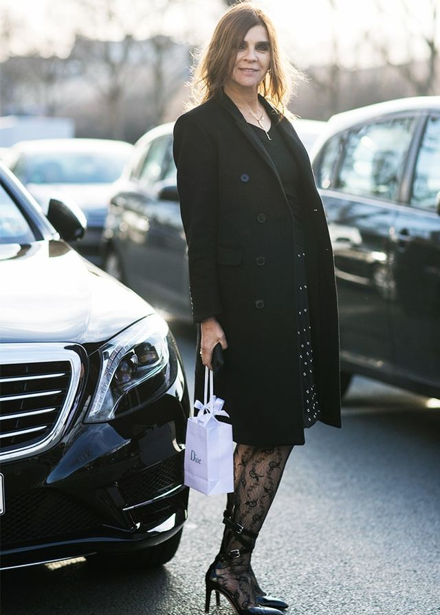 Re-Style #8: Choose lace tights instead of opaques.