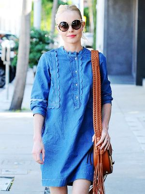 Get Kate Bosworth's Adorable Denim Dress Before It Sells Out