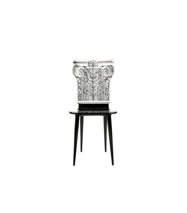 Fornasetti Capitello Corinzio Chair