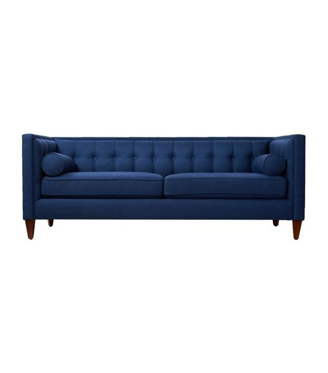 "One Kings Lane Jodi 84"" Tufted Sofa"