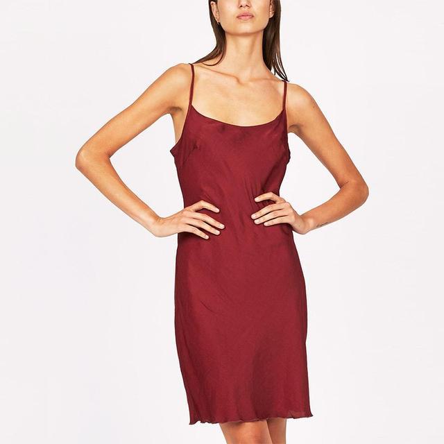 Candidate The Great Satin Bias Cut Dress