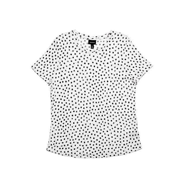 Who What Wear Collection Allover Printed Tee